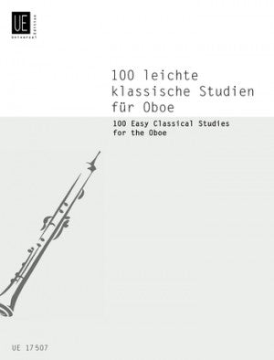 100 Easy Classical Studies For The Oboe
