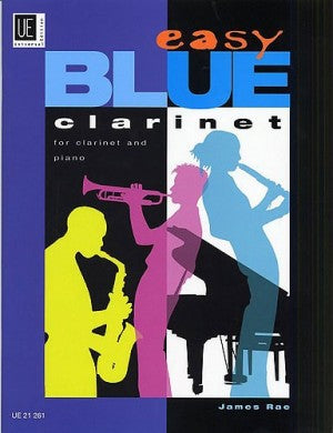 Easy Blue Clarinet James Rae