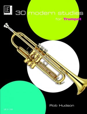 30 Modern Studies For Trumpet Rob Hudson