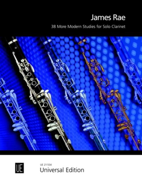 James Rae 38 More Modern Studies For Clarinet
