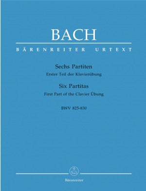 Bach, JS Six Partitas Keyboard