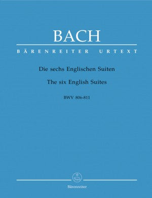 Bach, JS 6 English Suites