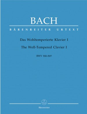 Bach, JS Well Tempered Bk1 48 Preludes and Fugues