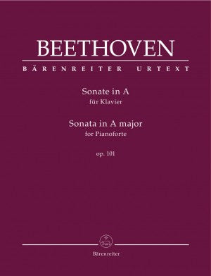 Beethoven Sonata in A Major Op. 101