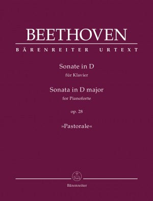 Beethoven Sonata in D Major Op. 28 (Pastorale)