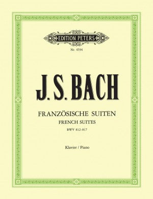 Bach, JS French Suites BWV 812-817