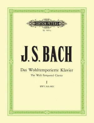 Bach, JS The Well Tempered Clavier Book 1 BWV 846- 869