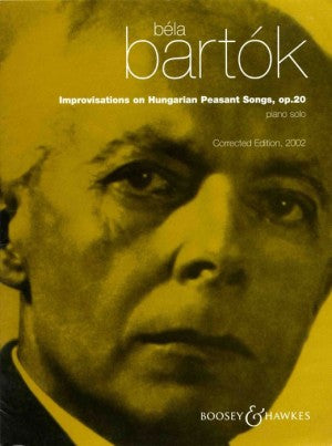Bartok Improvisations of Hungarian Peasant Songs