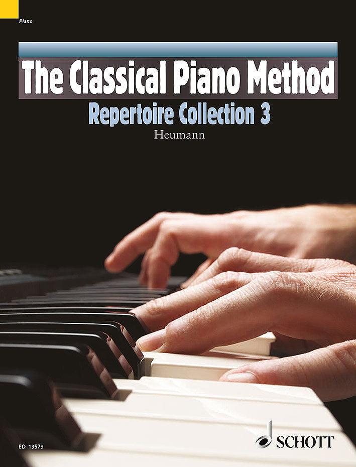 The Classical Piano Method Repertoire Collection 3 Heumann