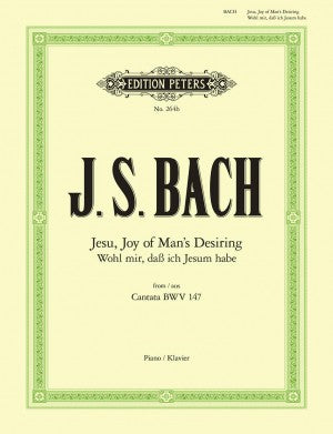 Bach, JS Jesu, Joy of Man's Desiring from Cantata BWV 147