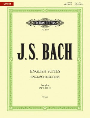 Bach, JS English Suites BWV 806-11 Complete