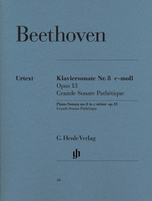 Beethoven Piano Sonata No. 8 c minor op. 13 (Pathatique)