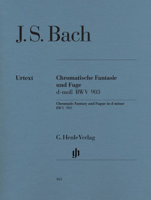 Bach, JS Chromatic Fantasy and Fugue in D Minor BWV 903