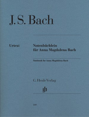 Bach, JS Notebook for Anna Magdalena Bach
