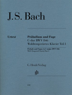 Bach, JS Prelude and Fugue in C Major BWV 846 (from Well Tempered Clavier Vol. 1)