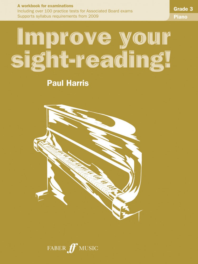 Paul Harris Improve Your Sight Reading Piano Grade 3
