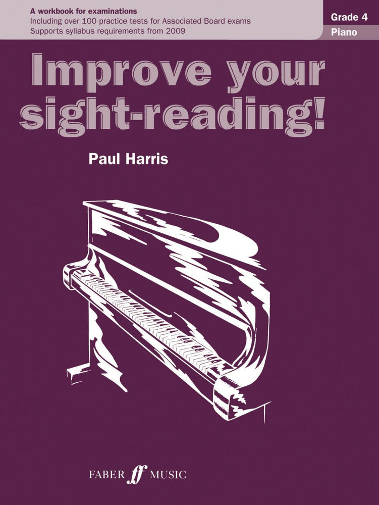 Paul Harris Improve Your Sight Reading Piano Grade 4