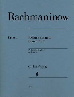 Rachmaninov Prelude in c sharp minor op. 3 no. 2