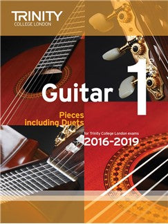 Trinity College London Guitar Exam Pieces Grade 1 (2016-2019)