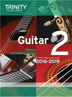 Trinity College London Guitar Exam Pieces Grade 2 (2016-2019)