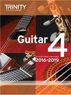 Trinity College London Guitar Exam Pieces Grade 4 (2016-2019)