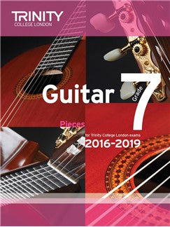 Trinity College London Guitar Exam Pieces Grade 7 (2016-2019)