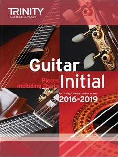 Trinity College London Guitar Exam Pieces Initial (2016-2019)