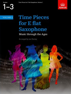 Time Pieces for E flat Saxophone, Volume 1