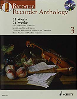 Baroque Recorder Anthology 3