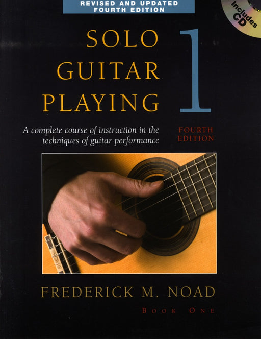 Frederick Noad Solo Guitar Playing Book 1 + CDs