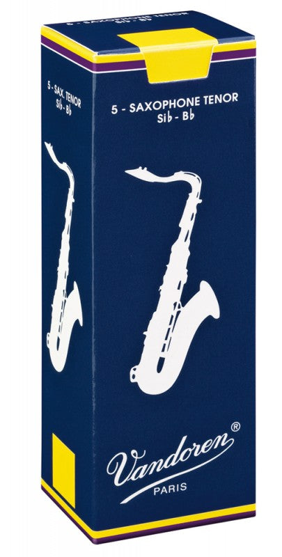 Vandoren Reeds Tenor Sax Traditional (5 BOX)