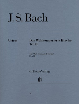 Bach, JS The Well-Tempered Clavier Book 2