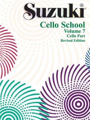 Suzuki Cello School Volume 7 Cello Part