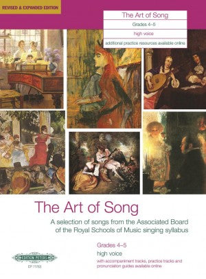 The Art of Song Grades 4-5, high voice