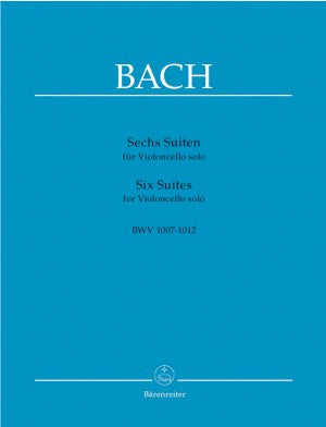 JS Bach Six Cello Suites BWV 1007-1012