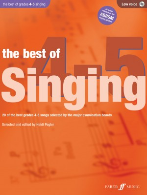 The Best of Singing grades 4-5, low voice