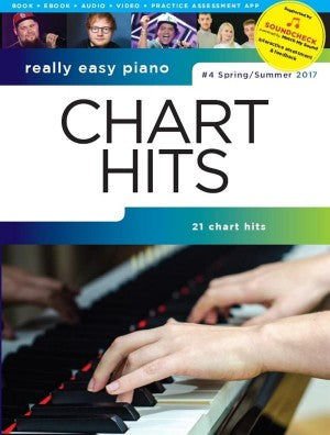 Really Easy Piano Chart Hits No.4, Spring/Summer 2017