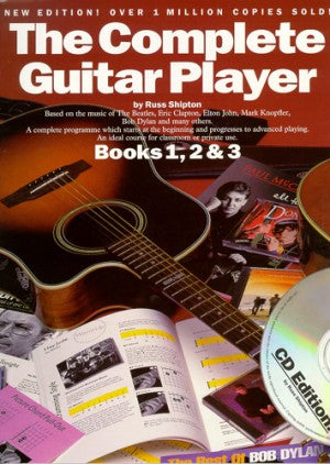The Complete Guitar Player Books 1, 2 & 3 + CD
