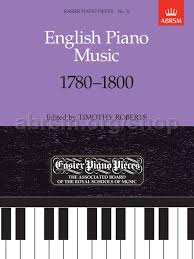 English Piano Music 1780- 1800