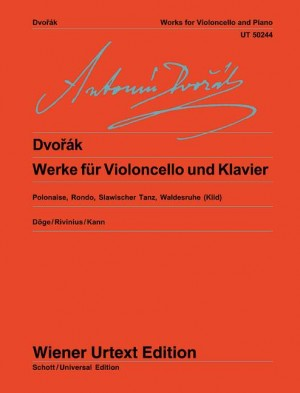 Dvorak Works for Cello and Piano