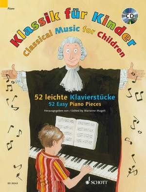 Classical Music for Children 52 Easy Piano Pieces