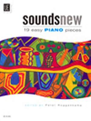 Sounds New 19 Easy Piano Pieces