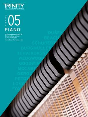Piano Exam Pieces & Exercises 2021-2023: Grade 5