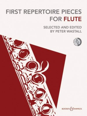 Peter Wastall First Repertoire Pieces for Flute with CD