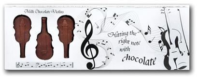 Chocolate Violins