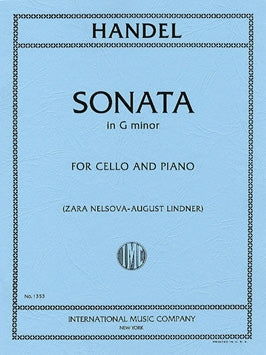 Handel Sonata in G minor for Cello and Piano