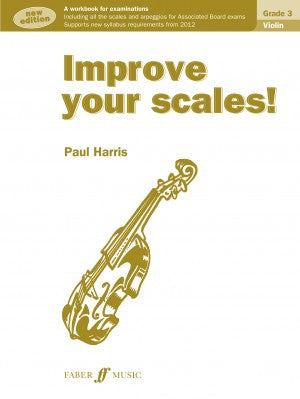 Improve your scales! Grade 3 by Paul Harris