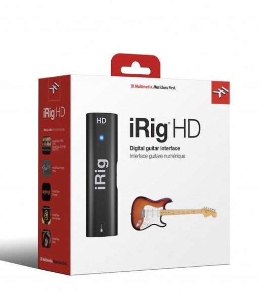IK Multimedia iRig HD 2 Guitar Interface