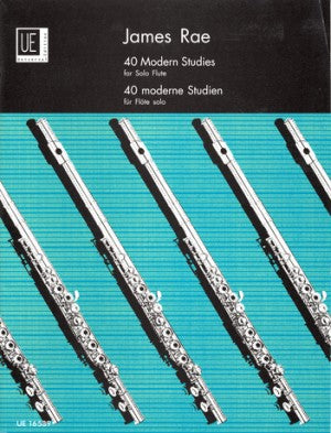 James Rae 40 Modern Studies for Solo Flute