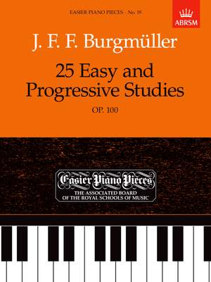 Burgmuller 25 Easy and Progressive Studies Op. 100